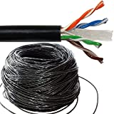 Generic Ethernet-LAN-UTP-Roltrommel Kupfer Ex 50 m CAT6 Outdoor 50 m CA Kupfer Ex Ree Netzwerk Kabel r Netw Ethernet LAN UTP