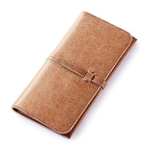ZXDOP Brieftasche der Männer Mappen-Retro- Männer lange Beutel-Mappe der ledernen Beutel-Männer ( farbe : 5# ) 3#