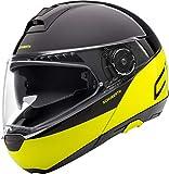 SCHUBERTH C4 Pro Swipe Amarillo Modulares Casco De Motocicleta Tamano M
