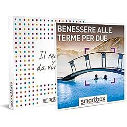 SMARTBOX - Cofanetto regalo coppia - idee regalo originale - Esperienza rilassante di benessere alle terme