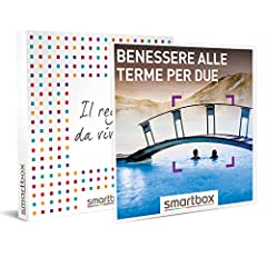 Idea Regalo - SMARTBOX - Cofanetto regalo coppia - idee regalo originale - Esperienza rilassante di benessere alle terme