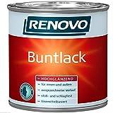 Buntlack lösemittelhaltig Weiß 5 Liter hochglänzend Alkydharzlack (9,60 Euro/Liter)