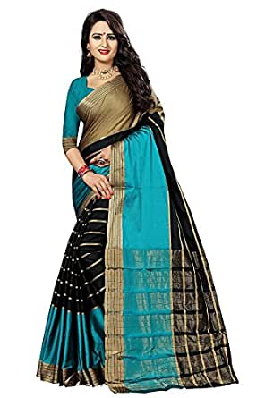 Sarees (Sarees Corner new Collection 2017 sarees for women party wear offer designer sarees for women latest design sarees below 500 saree for women saree for women party wear saree for women in Latest Saree With Designer Blouse
