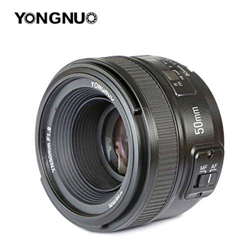 Yongnuo YN50F1.8N AF/MF Standard Prime Objektiv für Nikon D7100D5500d810a D800