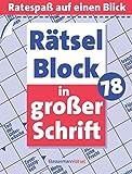 Rätselblock in großer Schrift 78 - Eberhard Krüger