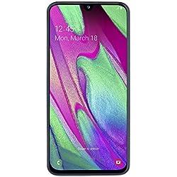 "Samsung Galaxy A40 (2019) Smartphone, Bianco, Display 5,9"" 64 GB Espandibili, Dual Sim [Versione Italiana]"