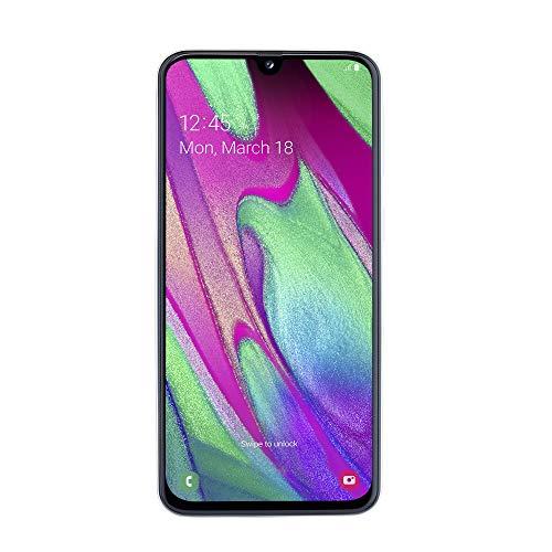 Samsung Galaxy A40 (2019) Smartphone, Bianco, Display 5,9' 64 GB Espandibili, Dual Sim [Versione Italiana]