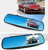 "Highdas 4.3"" HD 1080P In-Car Rearview Mirror Recorder Monitor Dash"