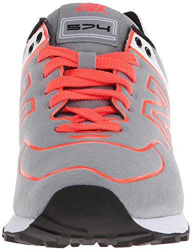 New Balance 574 Femme Baskets Mode Gris Gris