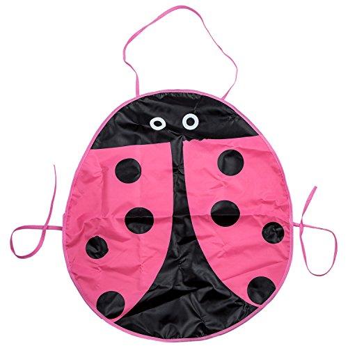 Kostüm Muster Käfer - Cikuso Wasserdichter Anstrich Schuerze Muster des Kaefers Fuer das Kinderfertigkeit Kostuem - Rosa