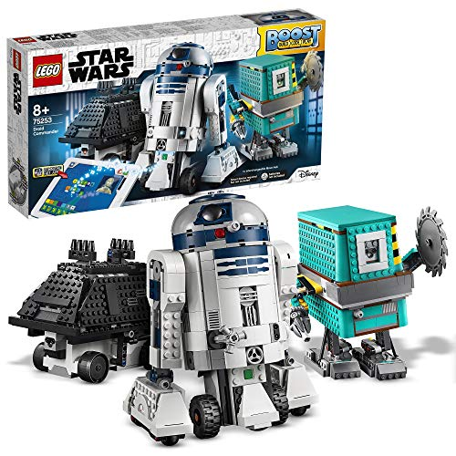 LEGO 75253 Star Wars BOOST Droid Commander 3 Robot Toys in 1 Set, App Controlled Programmable Interactive Robots (Exclusive to Amazon & LEGO) Best Price and Cheapest