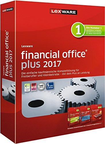 Lexware financial office 2017 plus-Version Minibox (Jahreslizenz) / Einfache kaufmännische Komplett-Lösung für Freiberufler, Selbständige & Kleinunternehmen / Kompatibel mit Windows 7 oder aktueller Test