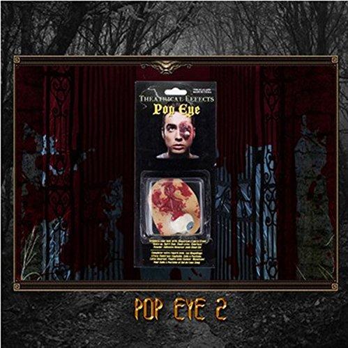 Terror Halloween geek Narben hinterlassen Videos special effects latex Requisiten Make-up Narben veröffentlicht einen Schnitt Wunde auf B