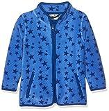 Playshoes Kinder-Jacke aus Fleece, atmungsaktives und hochwertiges Jäckchen mit Reißverschluss, mit Sternen-Muster