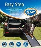 Duvo+ Easy step auto rampa per cani fino a 50kg grigio plastica 43x 40x 26cm