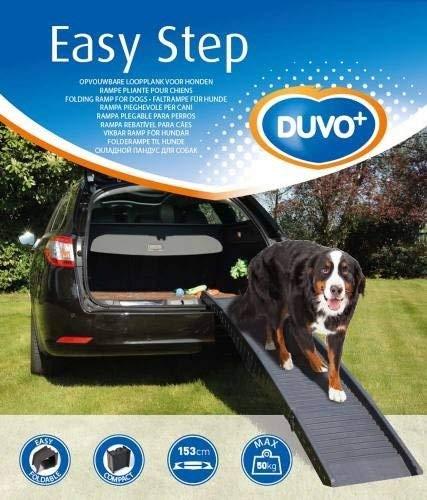 DUVO+ Easy Step Rampe Voiture en Plastique pour Chien de 50...