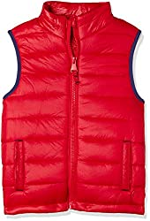 Mothercare Boys Regular Fit Jacket (MC813-1_Red_2 - 3 years)