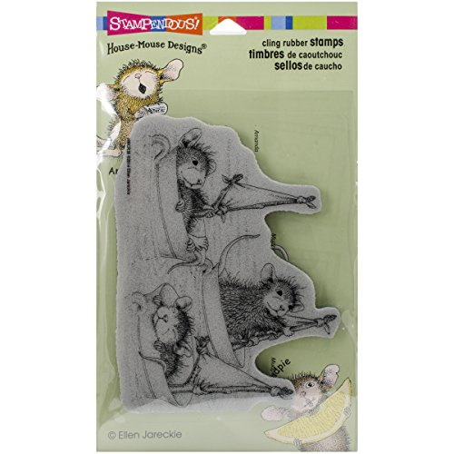 Stampendous House Mouse Cling Stamp 4
