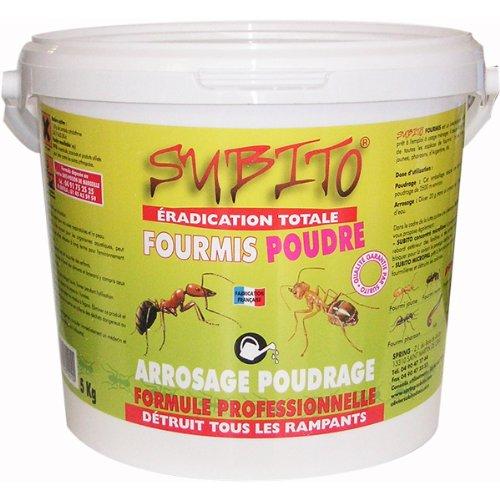 Subito - fourmis poudre 5kg - Anti-fourmis en poudre 5kg