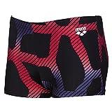 Arena Spider Junior Shorts De Bain Noir/Rouge 29
