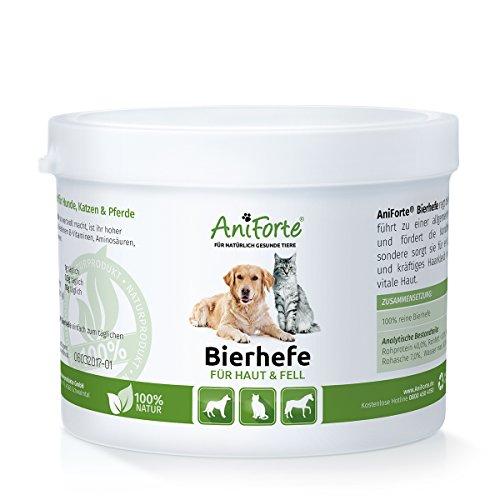 AniForte reine Bierhefe 250 g - versch. Größen - Naturprodukt für Hunde, Katzen und Pferde
