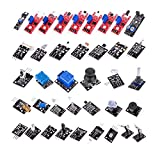 #7: Eachbid 37 in 1 Sensor Module Kit Set Compatible for Arduino UNO R3 Mega DIY Sensor Kit
