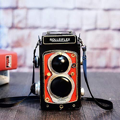 North King Decoracion,Decoraciones Hechas a Mano de cámara Modelo Adornos Accesorios Retro Ventana Foto Shop