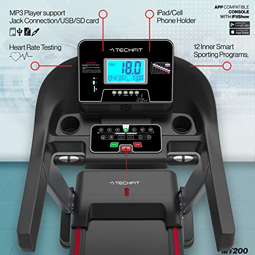 Zoom IMG-2 techfit mt200 tapis roulant professionale