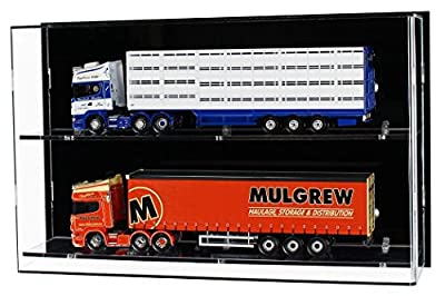 Acrylic Wall Display Case for 1:50 scale Model Trucks Or 1:12 Scale Motorcycles
