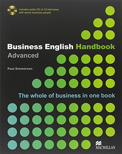 Business English Handbook Advanced by Paul Emmerson (2007-03-21)