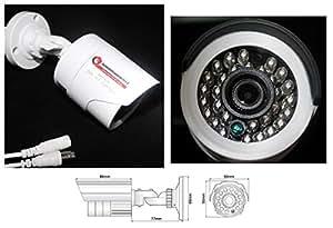 Überwachungskamera IR20 SONY CCD Tag&Nacht Kamera ,1,3 MP AHD HighClass SET