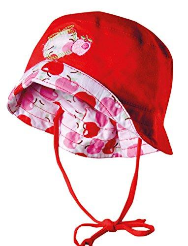 Ergora Mädchen Sommermütze Babymütze Sommerhut UV-Protection +50 in Zartrosa Gr. 37/39