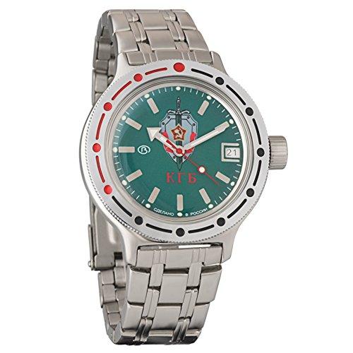 Vostok Amphibian 420945militare russo Divers Watch 2416b 200m auto KGB
