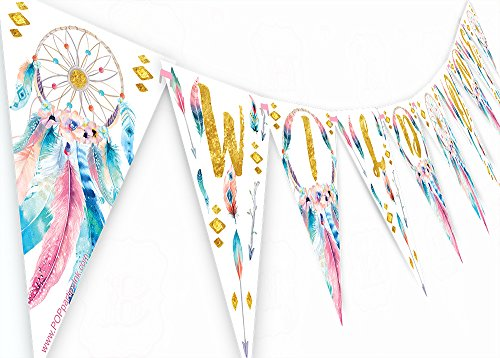 ant - Boho Party Banner ()