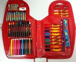 Valisette Coloriage 65 Pièces Cars