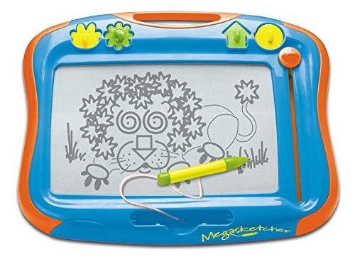 """TOMY Magnettafel für Kinder \""""Megasketcher\"""" mehrfarbig - hochwertiges Kinderspielzeug - Zaubertafel bunt ohne Wabenstruktur fördert die Kreativität - ab 3 Jahre"""