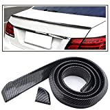 #3: PR Carbon Finish Trimmable Car Spoiler Car Lip Spoiler-For Volkswagen Jetta