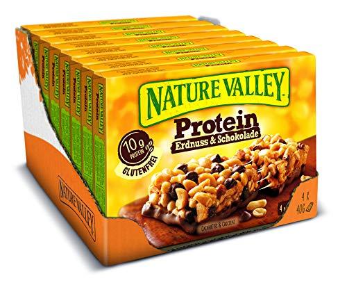 n Erdnuss & Schokolade, 8er Pack (8 x 160 g Multipack mit je 4 Proteinriegeln) ()