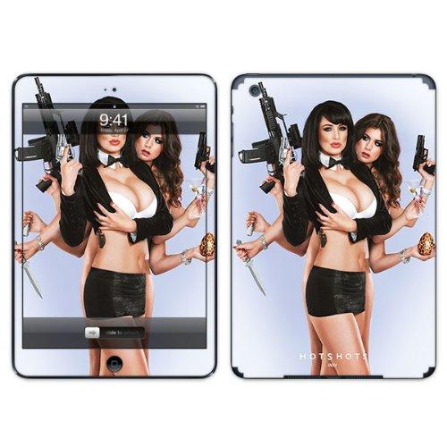 Diabloskinz B0104-0064-0040 selbstklebender Agent Sophie Vinyl-Skin Displayschutzfolie für Apple iPad Air (Agent-aufkleber)