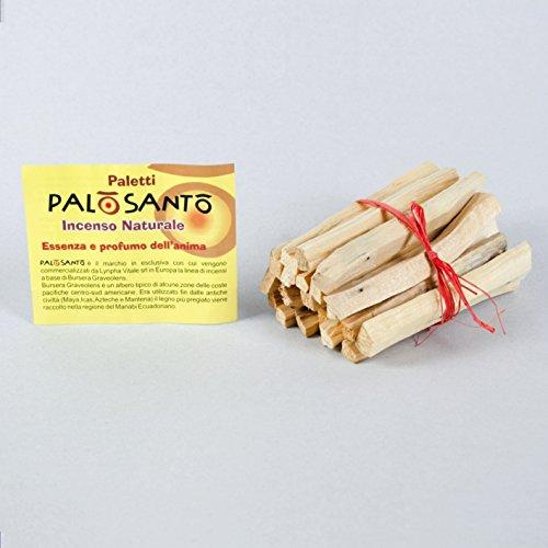 Incienso Natural Palo Santo - Paquete de 20 barritas