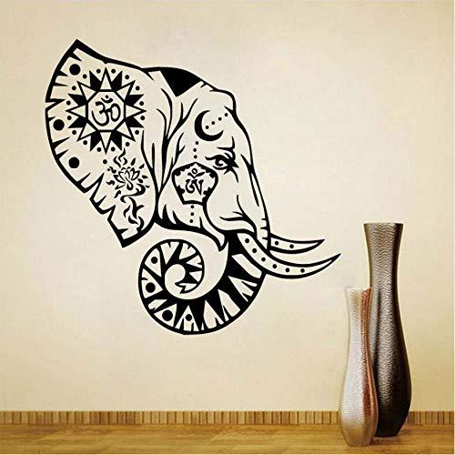 Wandaufkleber Zen Zeichen Buddhismus Indische Kreative Home Decor Abnehmbare Vinyl Wandtattoo Aufkleber Kleber Wasserdicht