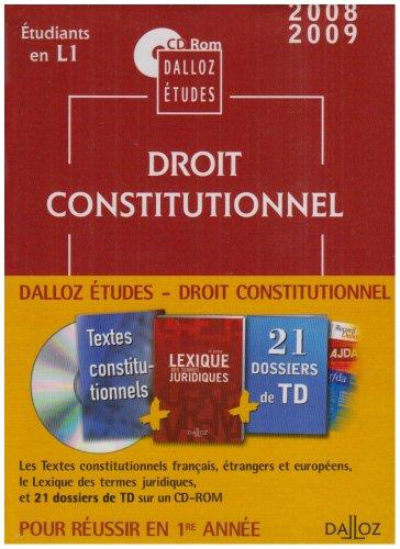 Droit constitutionnel : CD Rom par Dalloz