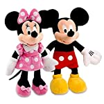 west feen Kid's Fav Mickey Minnie Mouse Stuffed Soft Toys-Medium
