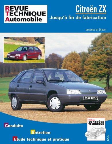revue technique 109.1 Citroën Zx Essence et Diesel