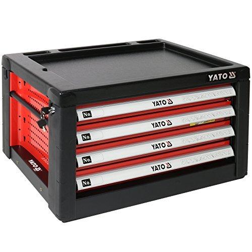 Yato yt-09152 Werkzeugkasten 4Schubladen