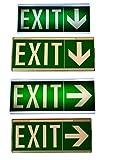 Notleuchte Notbeleuchtung Exit Notausgang Fluchtwegleuchte Notlicht Fluchtweg EXIT IL