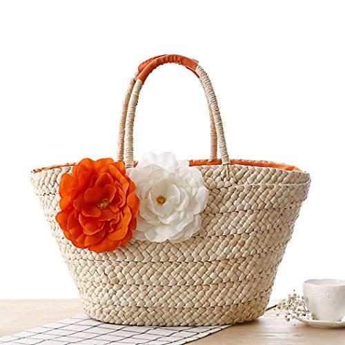 FAIRYSAN, Borsa a spalla donna arancione
