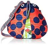 Oilily Mädchen Ladybug Shoulder Bag Rucksack, Grün (Leaf), 10x23.5x19 cm