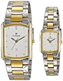 Titan NH19552955BM01 Bandhan Analog White Dial Couple Watch (NH19552955BM01)