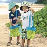 AJOYCN Strand Taschen Wandern Ausflug Aufbewahrungsbeutel Picknick Geschirr Taschen - Geeignet für Spielzeug und Kleidung 1 stücke 24 cm * 24 cm